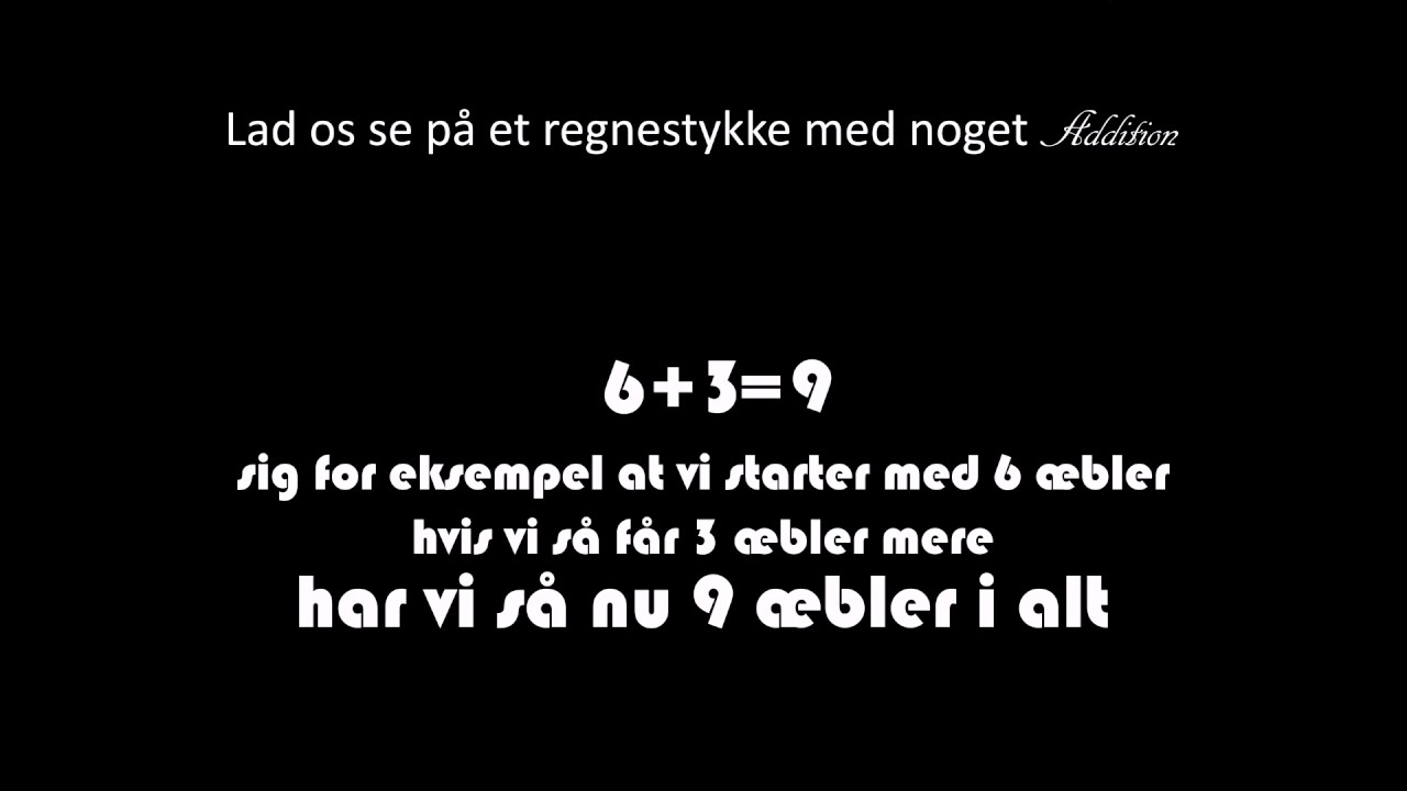 hurtig matematik - Addition på 21 sekunder