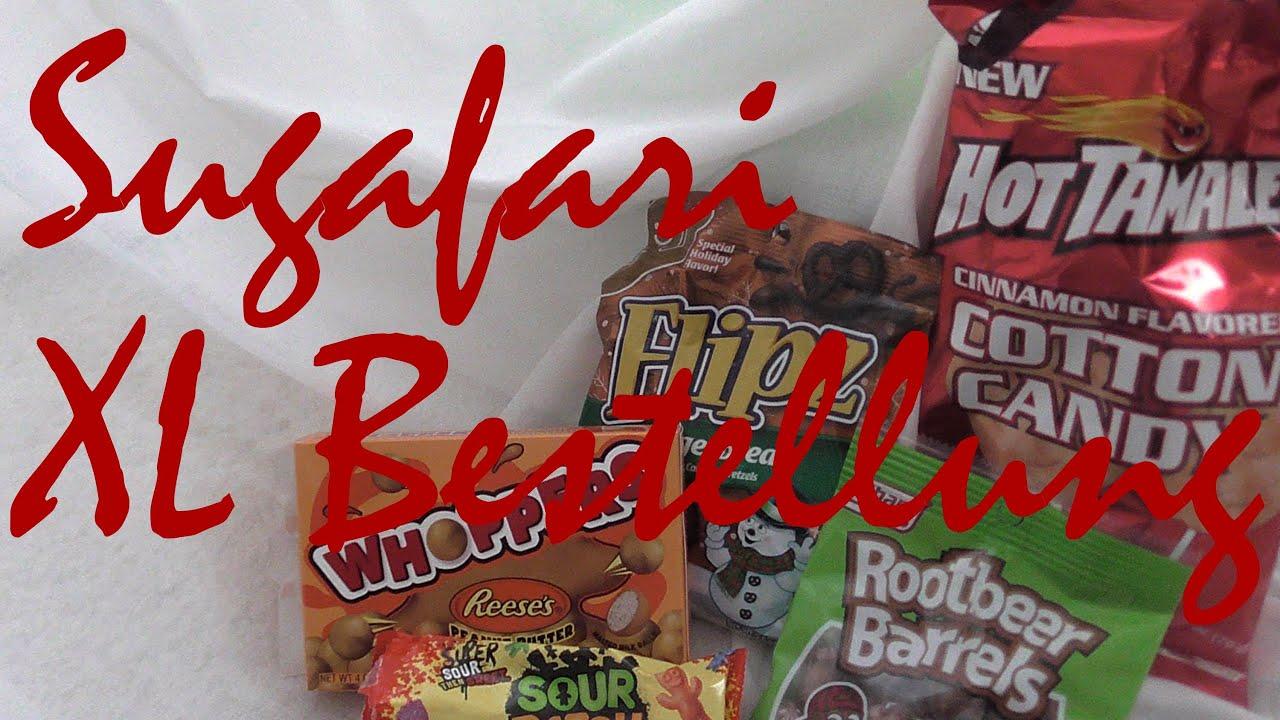 Meine Sugafari Bestellung- Süßigkeiten aus aller Welt - YouTube