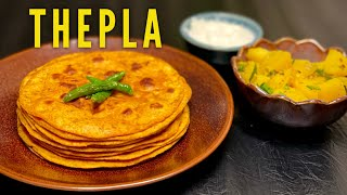 Thepla Ki Recipe -बड ह आसन तरक स बनय थपल Thepla Recipe  Gujarati Recipe