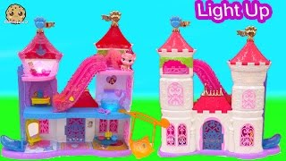 Disney Princess Palace Pets Magical Lights Light Up Pawlace Playset Unboxing Cookieswirlc Video