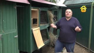 видео Как сделать крольчатник своими руками: планирование и устройство