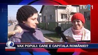 VAX POPULI: Care este capitala României?