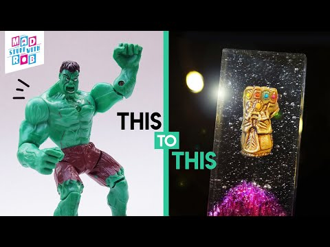How to Make THANOS' Gauntlet out of Hulk's Hand | IN HINDI | RESIN ART