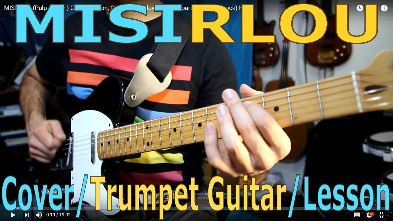 MISIRLOU (Pulp Fiction) Guitar Lesson, Cover, Dick Dale, How to play,  Tutorial