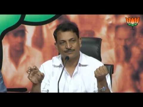 BJP Press: Diesel Price hike & Coal Block Allocation: Sh. Rajiv Pratap Rudy: 14.09.2012