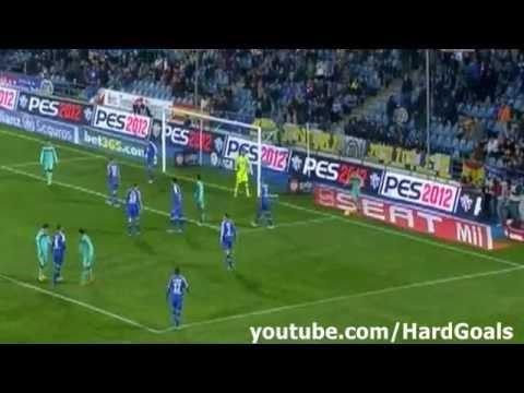 Getafe Vs Barcelona 1 0 Full Match Highlights 26 11 2011 Youtube