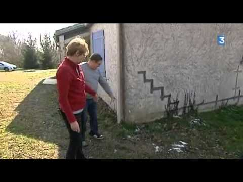 Prignac   Trs Fissure La Maison Risque De SEffondrer  Youtube