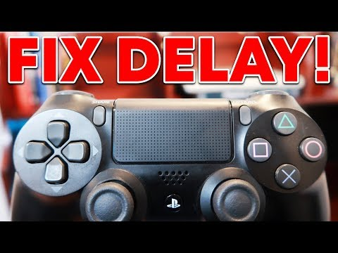 HOW TO FIX PS4 CONTROLLER DELAY (NEW!)