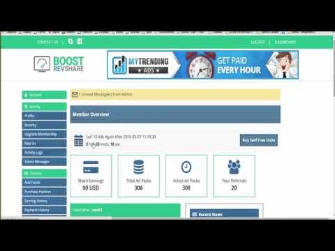 BoostRevShare Подробный обзор работы и преимуществ партнеров проекта BoostRevShare