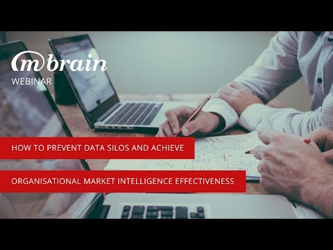 Webinar: Prevent Data Silos and Achieve Organisational Market Intelligence Effectiveness