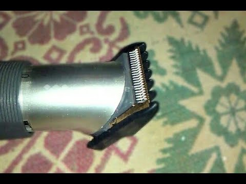 WHAT IS INSIDE IN HAIR CUTTER MACHINE