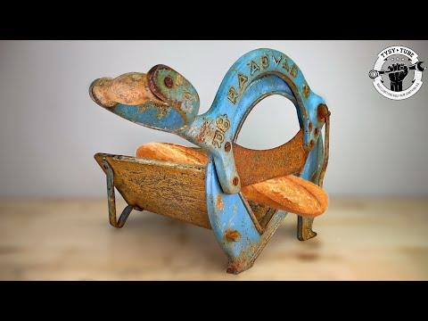 Iconic Bread Guillotine  RAADVAD - Will cut the Bread ?