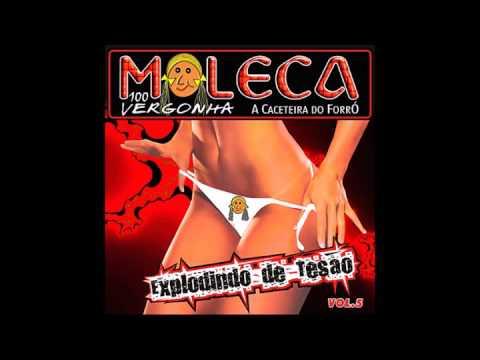 CD Moleca 100 Vergonha (Explodindo de Tesão) - Vol. 5, 2005