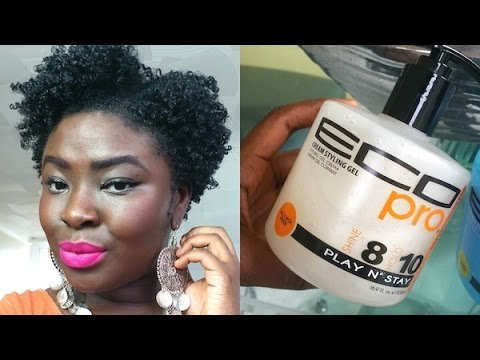 how to use hair styling gel 4b 4c hair new eco styler styling gel 9341 | hqdefault