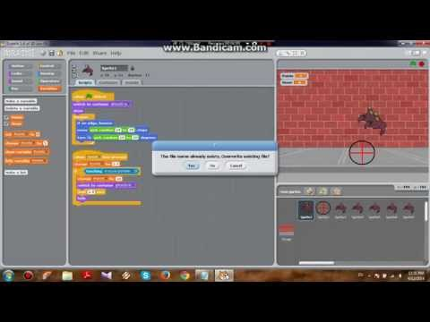 Scratch: Easy Shooting Game