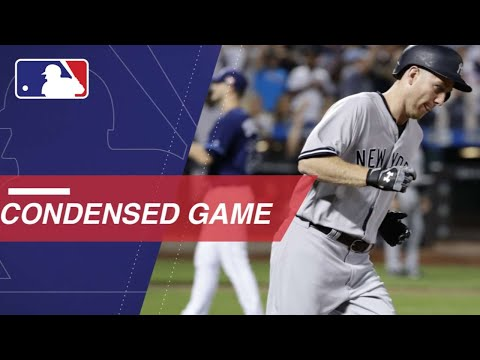 Condensed Game: NYY@TB 9/11/17