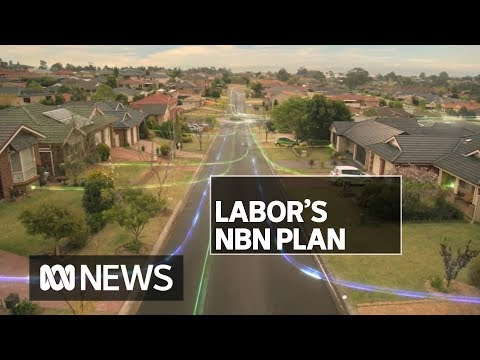 NBN At The Centre Of Anthony Albanese's Economic Pitch | ABC News