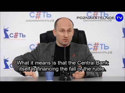 How and why the Ruble was driven lower. Nikolai Starikov
