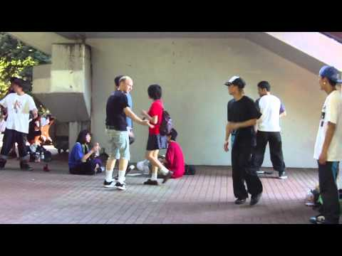 Day 2.03 B-Boy Kaijuu Random Battle, Yoyogi Park (Yoyogi, Tokyo, Japan 07/10/11)