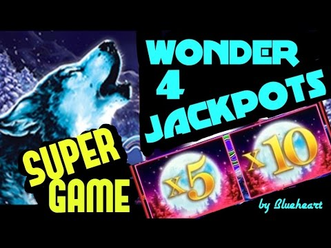 ★WONDER 4 JACKPOTS ★ BUFFALO GOLD and TIMBER WOLF Deluxe slot machine LIVE PLAY/ BIG WINS - 동영상