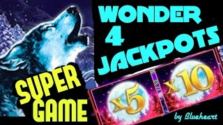 ★WONDER 4 JACKPOTS ★ BUFFALO GOLD and TIMBER WOLF Deluxe slot machine LIVE PLAY/ BIG WINS