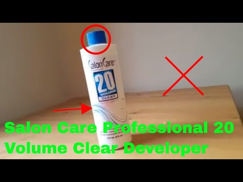 ✅ How To Use Salon Care Professional 20 Volume Clear Developer Review