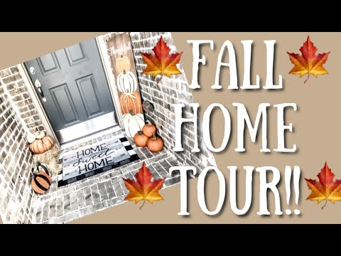 🍁FALL Home Tour!🍁 New House!!