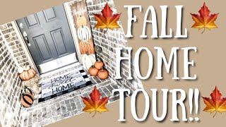 🍁FALL Home Tour!🍁 New House!!