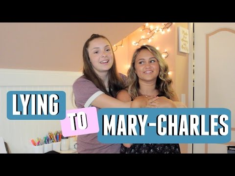 TWO TRUTHS AND A LIE WITH MARYCHARLES
