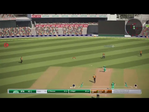 BBL T10 in Ashes cricket PS4 - Game 1 - Perth Scorchers v Melbourne Stars