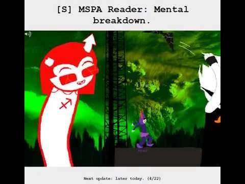 [S] MSPA Reader: Mental breakdown. - Homestuck