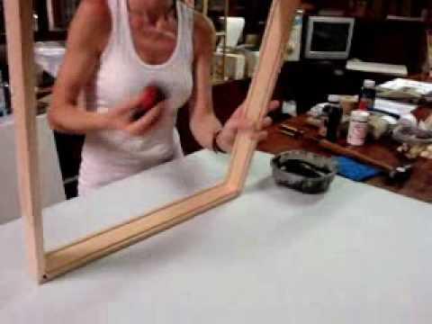 C mo hacer un marco de madera aprenda f cil funnydog tv - Como hacer un marco para un cuadro ...