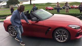 World Premiere of the All-New BMW Z4 by new car designer for BMW, Josef Kaban in Pebble Beach, CA