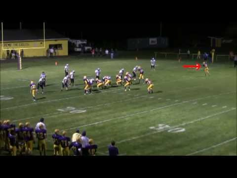 Cal Felker Football Highlights- Clyde Savannah High School