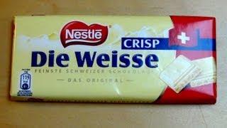 Crispy White Chocolate [original Nestlé From Switzerland]