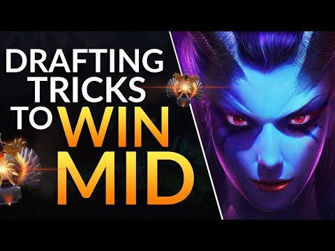 Tips to WIN MID LANE in the DRAFT: Counters to 10 META HEROES   Dota 2 Laning Guide