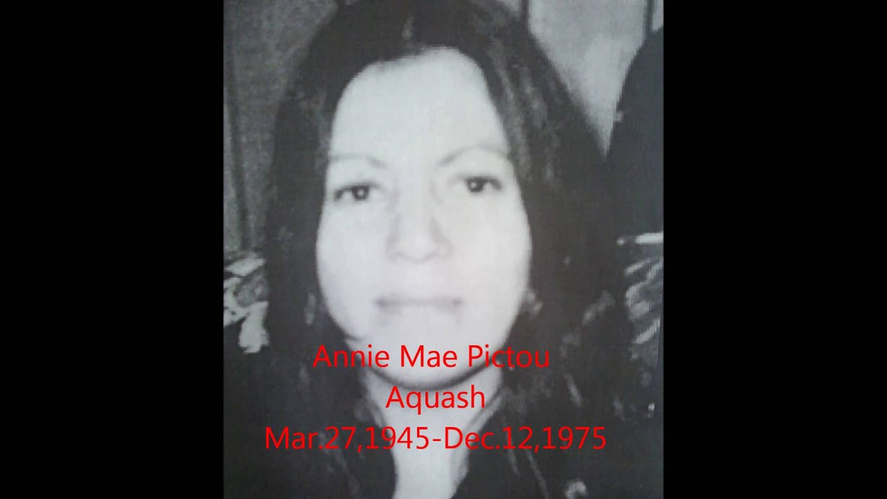 Annie Mae Pictou Aquash - YouTube