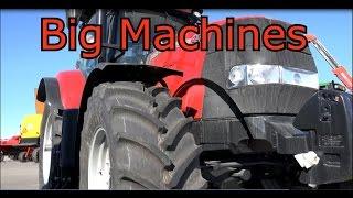 Valmet Valtra T202 Tractor Vs Case 240 Cvx Tractori Big Machine