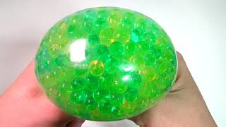 Combine Orbeez Balloons Surprise Egg Toys Stressball Play for Kids Learn Colors