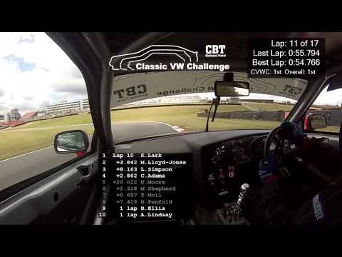Brands Hatch 2015 - Race 1 - Ken Lark - VW Corrado VR6
