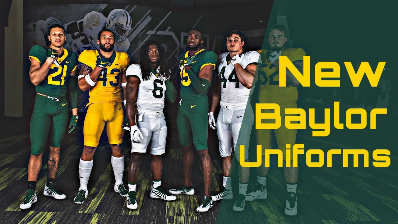 4c6e4b0cdb9b Baylor Rolls Out New Uniforms for 2019 - YouTube