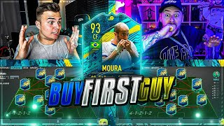 FIFA 20:  MOMENTS Lucas MOURA SBC  vs RICHY RICH BUY FIRST TOTS 🥰
