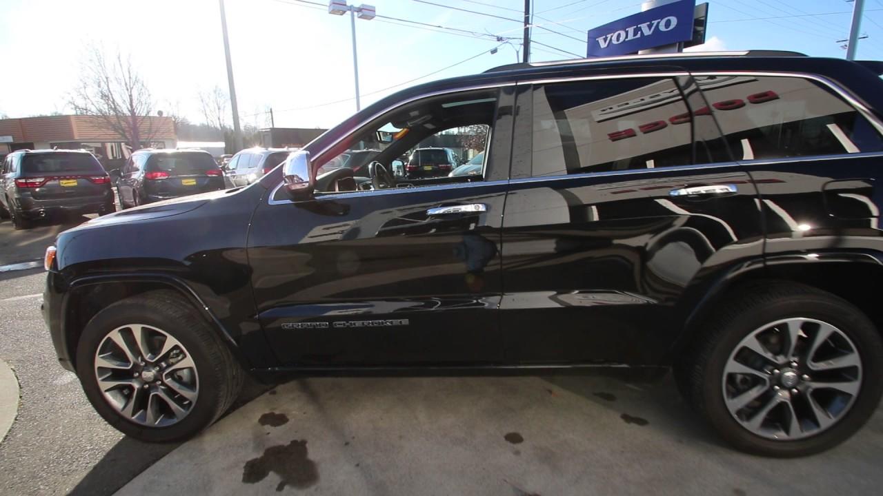 2017 jeep grand cherokee overland | diamond black | hc631005 | mt