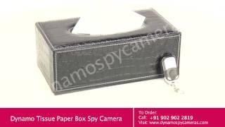 HD Tissue Box Spy Camera - 1 Year Warranty