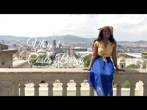 VLOG 1: COSTA BRAVA / A DAY IN BARCELONAAAAA || LIFESTYLE