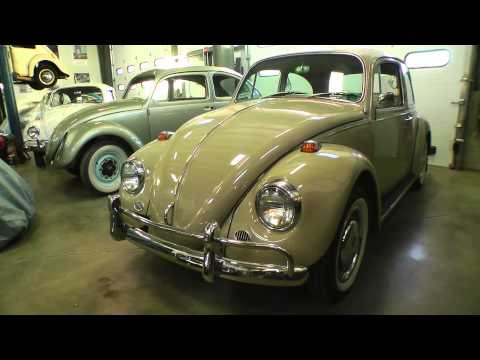 Classic VW BuGs Pt. 1 The Vintage One Year Only 1967 Beetle Features, Changes, & Upgrades