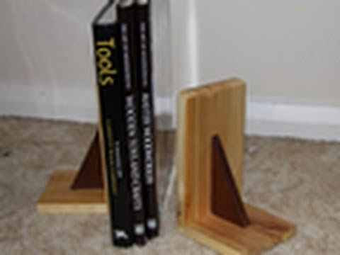 Hand Tool Woodworking Book Ends