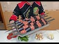 Traditional Eggplant Kebab Recipe Barbecue Cooking