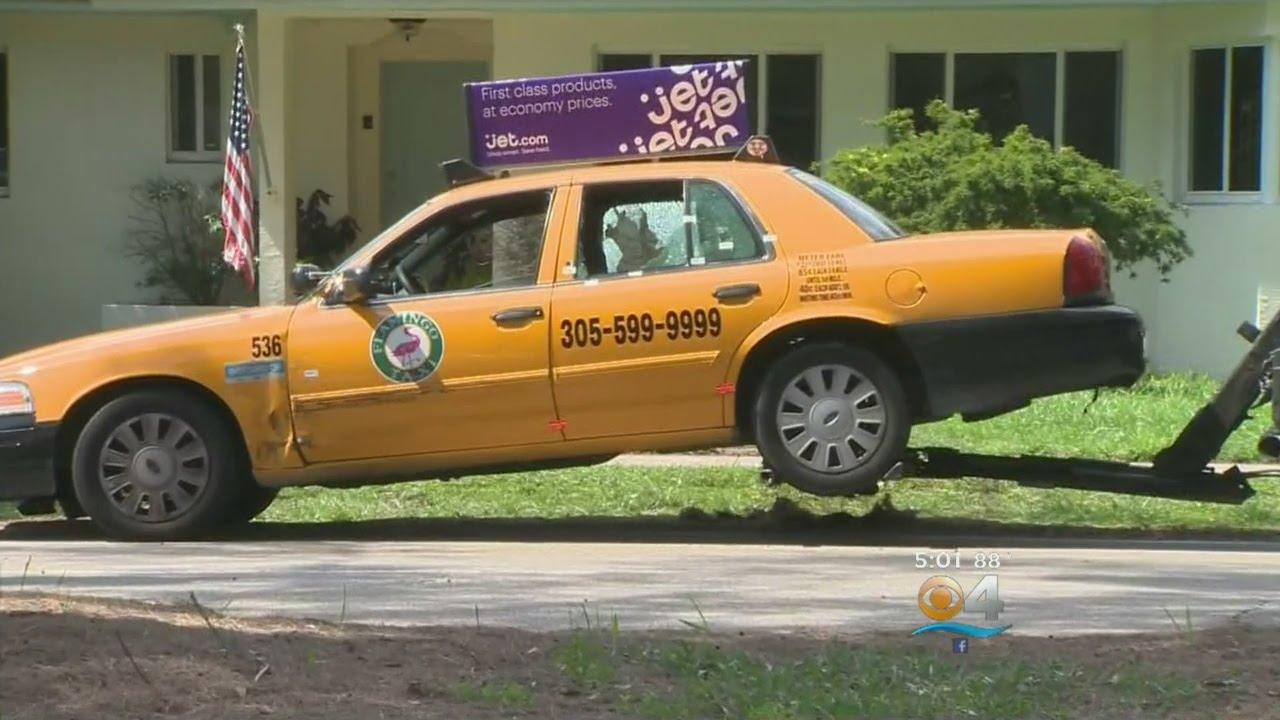 Two Hurt When Gunmen Fire On Miami Beach Taxi