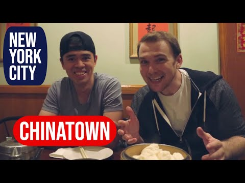 Exploring Chinatown and Downtown NYC - Elevated Acre, Original Chinese Ice Cream Factory, and More!